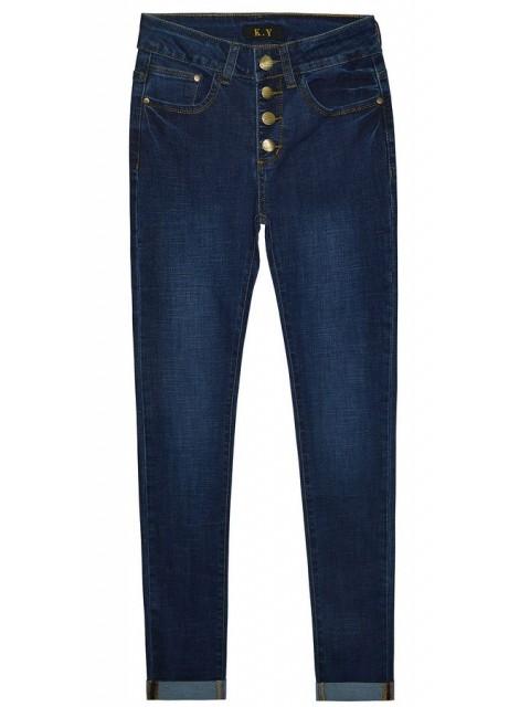 Джинсы женские K.Y Jeans 1114 (АКЦИЯ! Последний размер)