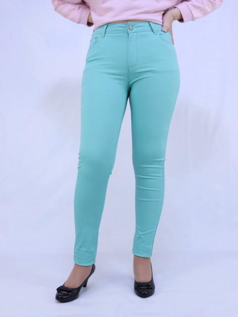 Джинсы женские Enbide цвет ментол (АКЦИЯ!) Только в июле цена 870 руб!!