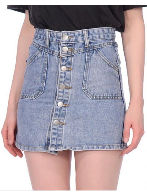 Юбка женская джинсовая 1338 АКЦИЯ! Последний размер