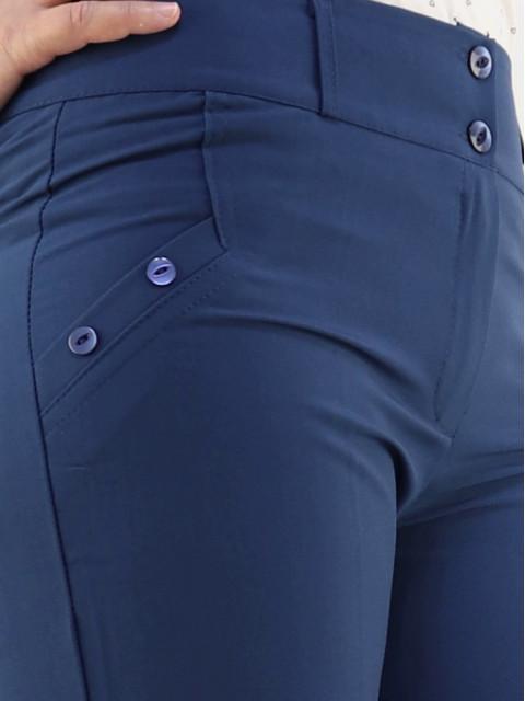 Брюки женские 1357 темно-синие