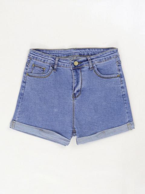 Шорты женские джинсовые 1387 (АКЦИЯ!)