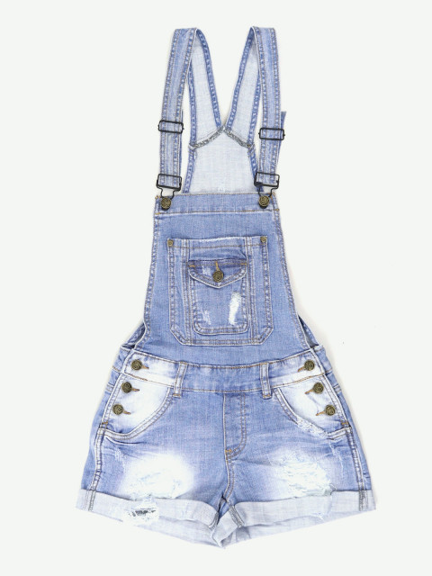 Комбинезон женский джинсовый (АКЦИЯ!! Только в июле цена 790 руб!)