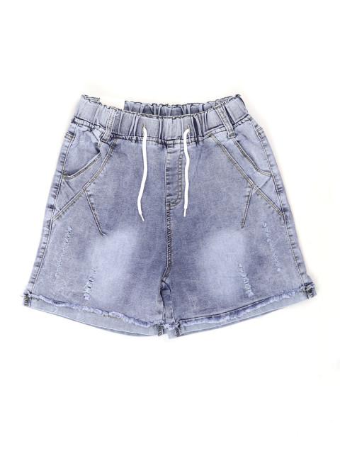 Шорты женские джинсовые на резинке (АКЦИЯ! Последний размер!)
