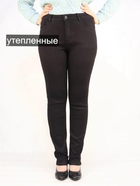 Джинсы женские VIGAZZ 1500 черные утепленные Акция!