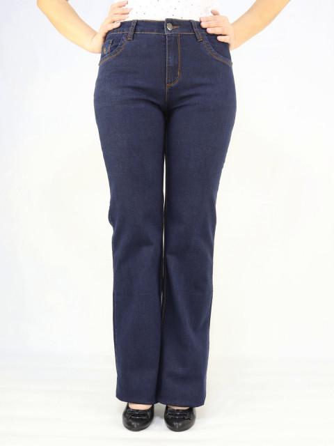 Джинсы женские Bicstar 1508 клеш высокий рост (АКЦИЯ!)
