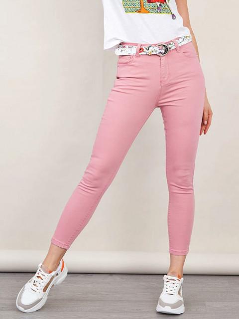 Джинсы женские ENBIDE розовый
