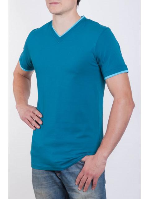 Футболка мужская синий