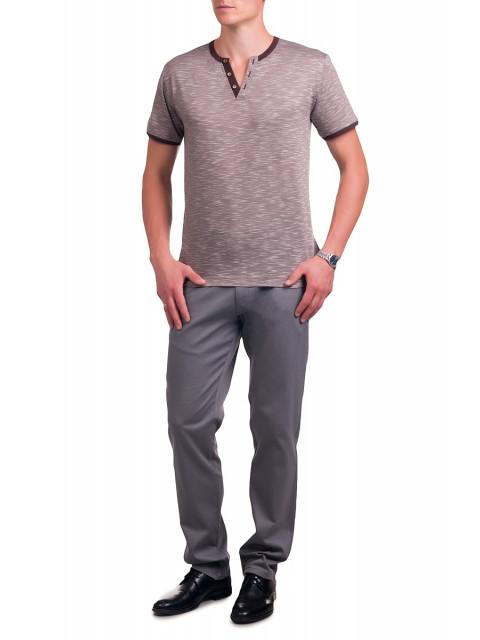 Трикотажная мужская футболка (кофе)