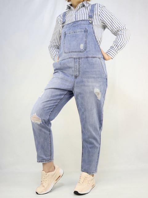Комбинезон женский джинсовый 1604