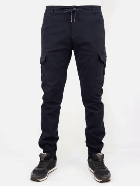 Джоггеры мужские DR (DERVIRGA`S) 357 темно-синий