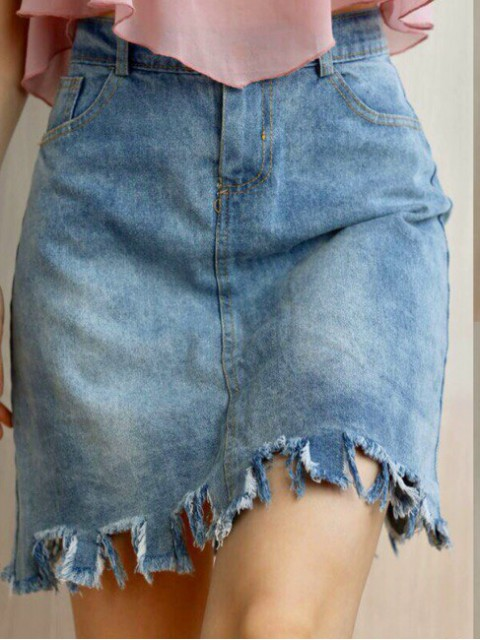 Юбка женская джинсовая 910